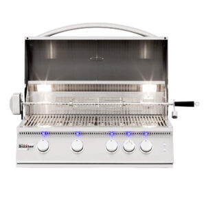 Summerset Sizzler Pro 32 Inch Built-in Open Barbecue Grill Head