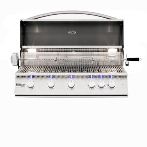 Summerset Sizzler Pro 40 Inch Grill - Open