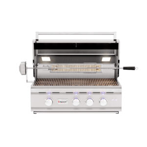 Summerset TRL -Turbo Replacement Lighted Built-in Open Barbecue Grill Head