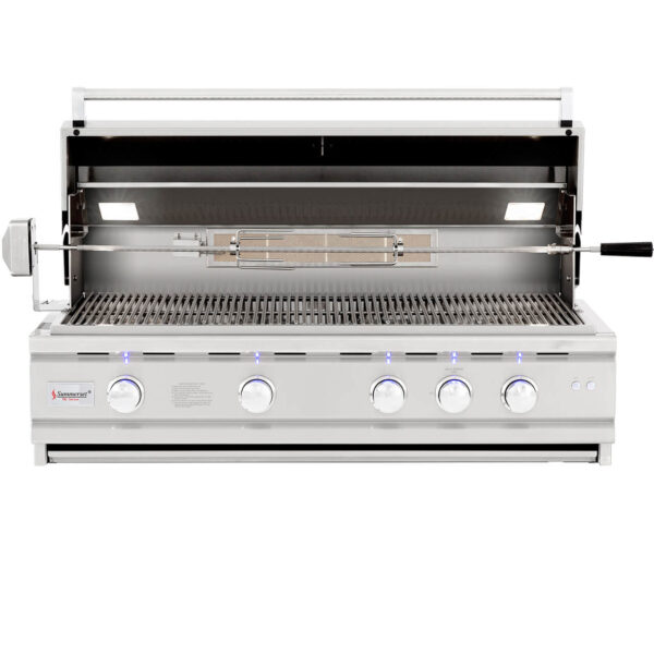 Summerset TRLD 44 Inch Barbecue Grill - Open
