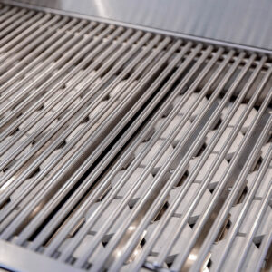 Alturi Cast Red Brass 30 Inch Barbecue Grill Grates Close-up