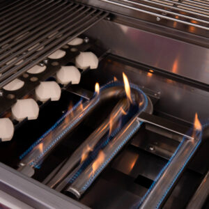 Summerset TRL Barbecue Grill U-Shaped Burners - Lit
