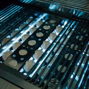 Lit Summerset Pro 40 Inch Grill