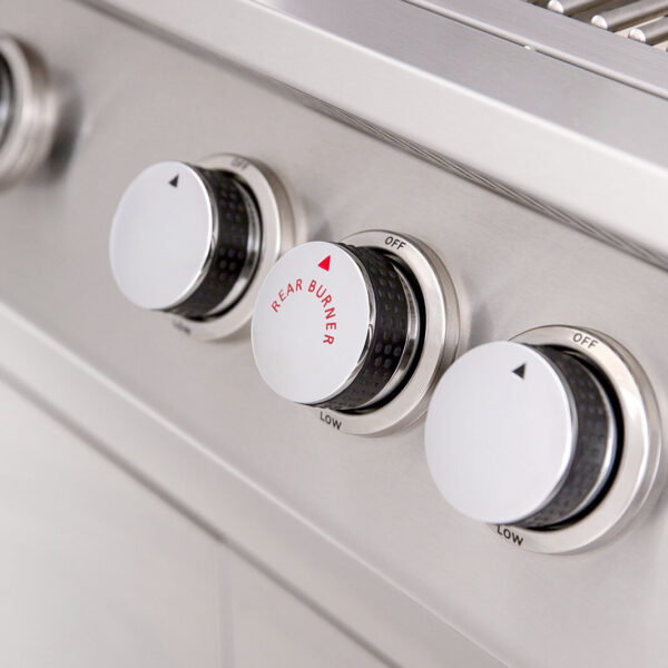 Sizzler Stainless Steel Knobs