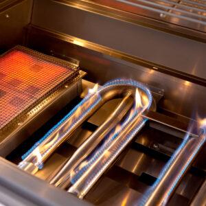 Summerset TRL U-Shape Lit Tube Burners and Infrared Sear Zone