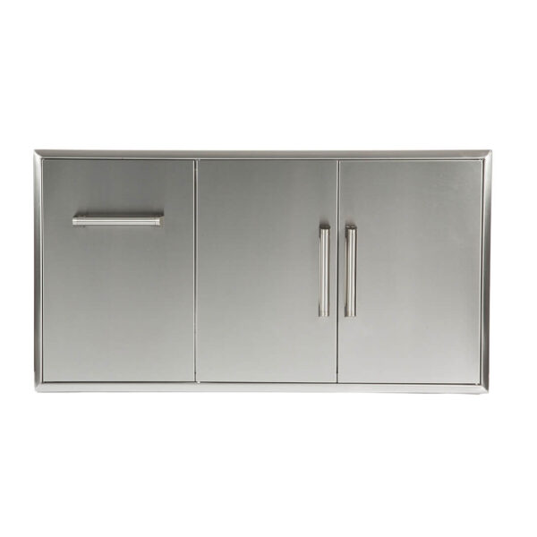 Coyote Outdoor Living Single Drawer and Double Door Combo Storage Unit