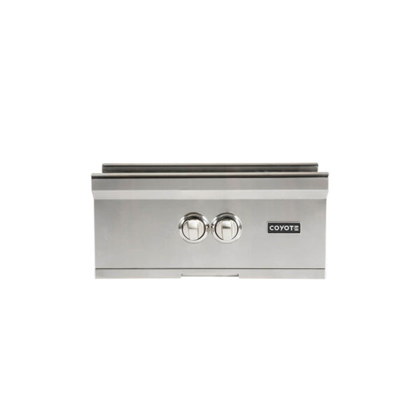 Coyote Outdoor Living Power Burner - Front View