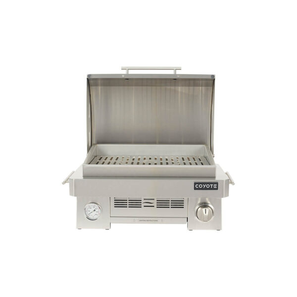 Coyote Outdoor Living Portable Grill Model with Open Grill Head