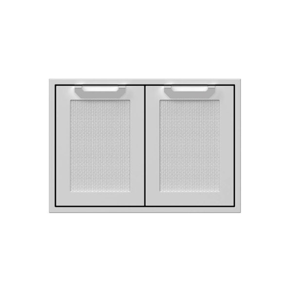 Hestan Outdoor AGSD30 Double 30 Inch Access Doors - Steeletto