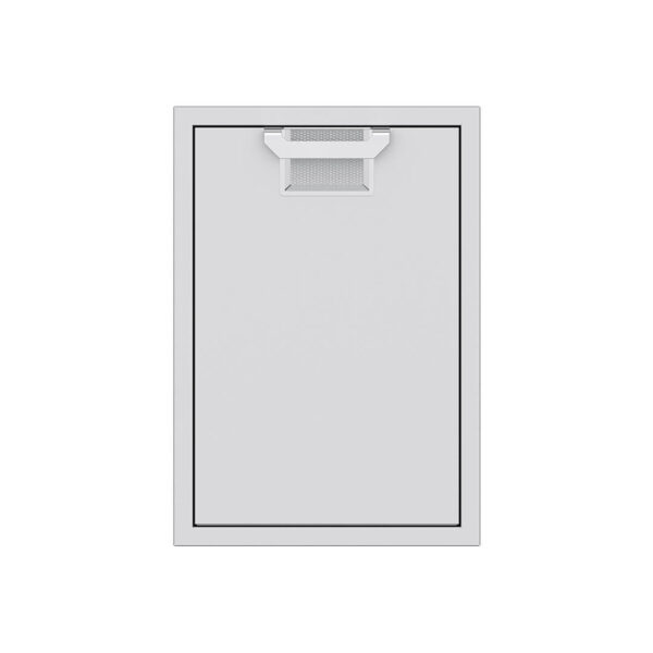 Hestan Outdoor AETRC20 Aspire Series 20 Inch Roll-Out Trash Storage Drawer - Steeletto