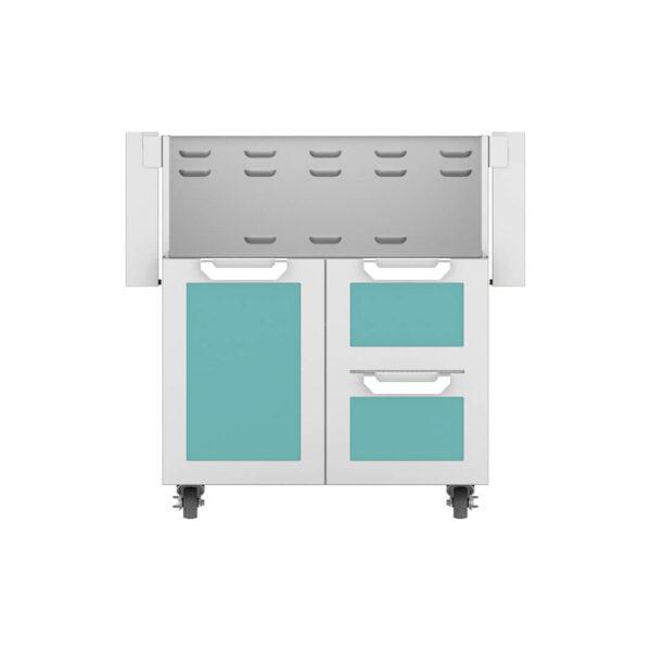 Hestan Outdoor GCR Series 30 Inch Tower Cart Door & Drawer Combo - Bora Bora