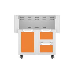 Hestan Outdoor GCR Series 30 Inch Tower Cart Door & Drawer Combo - Citra