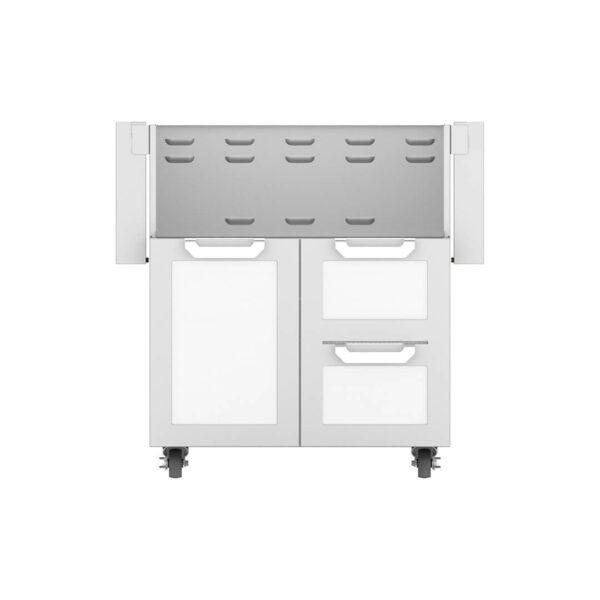 Hestan Outdoor GCR Series 30 Inch Tower Cart Door & Drawer Combo - Froth