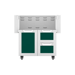 Hestan Outdoor GCR Series 30 Inch Tower Cart Door & Drawer Combo - Grove