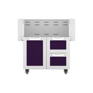 Hestan Outdoor GCR Series 30 Inch Tower Cart Door & Drawer Combo - Lush