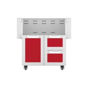 Hestan Outdoor GCR Series 30 Inch Tower Cart Door & Drawer Combo - Matador