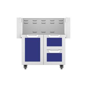 Hestan Outdoor GCR Series 30 Inch Tower Cart Door & Drawer Combo - Prince