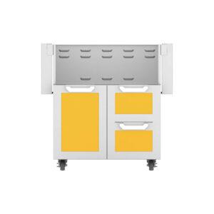 Hestan Outdoor GCR Series 30 Inch Tower Cart Door & Drawer Combo - Sol