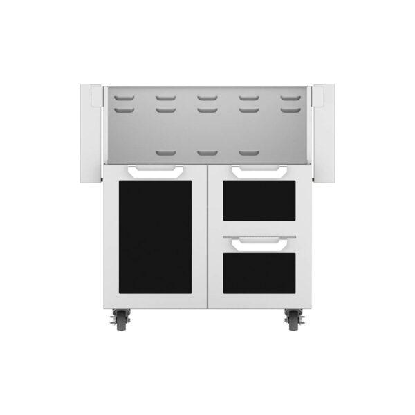 Hestan Outdoor GCR Series 30 Inch Tower Cart Door & Drawer Combo - Stealth