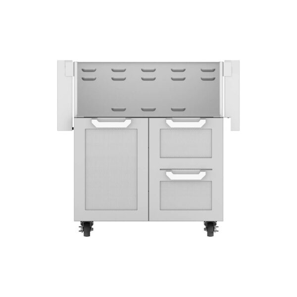 Hestan Outdoor GCR Series 30 Inch Tower Cart Door & Drawer Combo - Steeletto