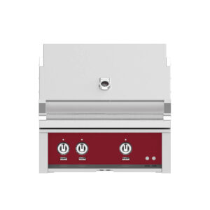 Hestan Outdoor 30 Inch Built-in Barbecue Grill - Tin Roof