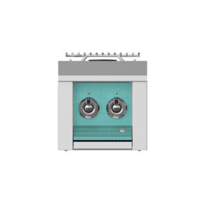 Hestan Outdoor AEB122 Aspire Series 12 Inch Built-In Double Side Burner - Bora Bora