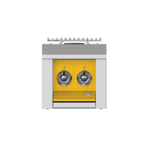 Hestan Outdoor AEB122 Aspire Series 12 Inch Built-In Double Side Burner - Sol