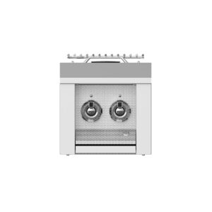 Hestan Outdoor AEB122 Aspire Series 12 Inch Built-In Double Side Burner - Steeletto