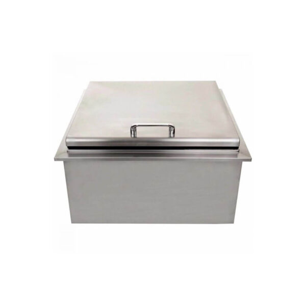 PCM 260 Series 18-Inch Drop-In Ice Bin Cooler With Condiment Tray