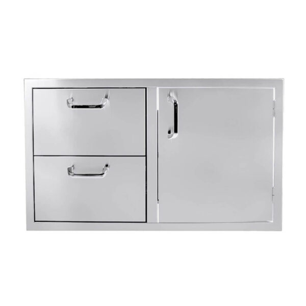PCM 260 Series 39-Inch Access Door & Double Drawer Combo (Reversible)