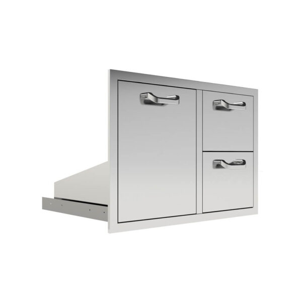 PCM 260 Series 42-Inch Door, Double Drawer & Roll-Out Trash Bin Combo