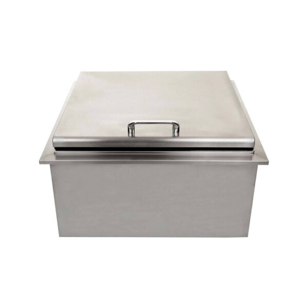PCM 260 Series 25-Inch Drop-In Ice Bin Cooler With Condiment Tray